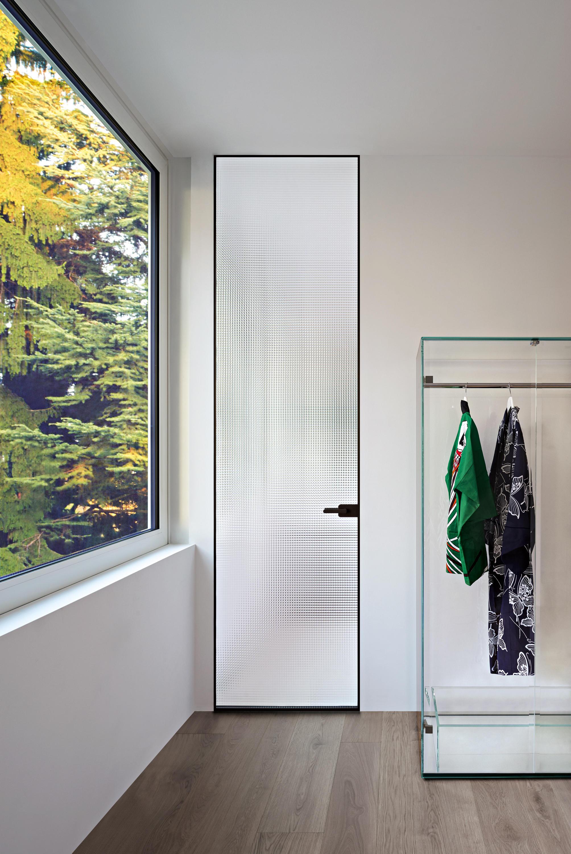 Sherazade Swing Plain Internal Doors From Glas Italia