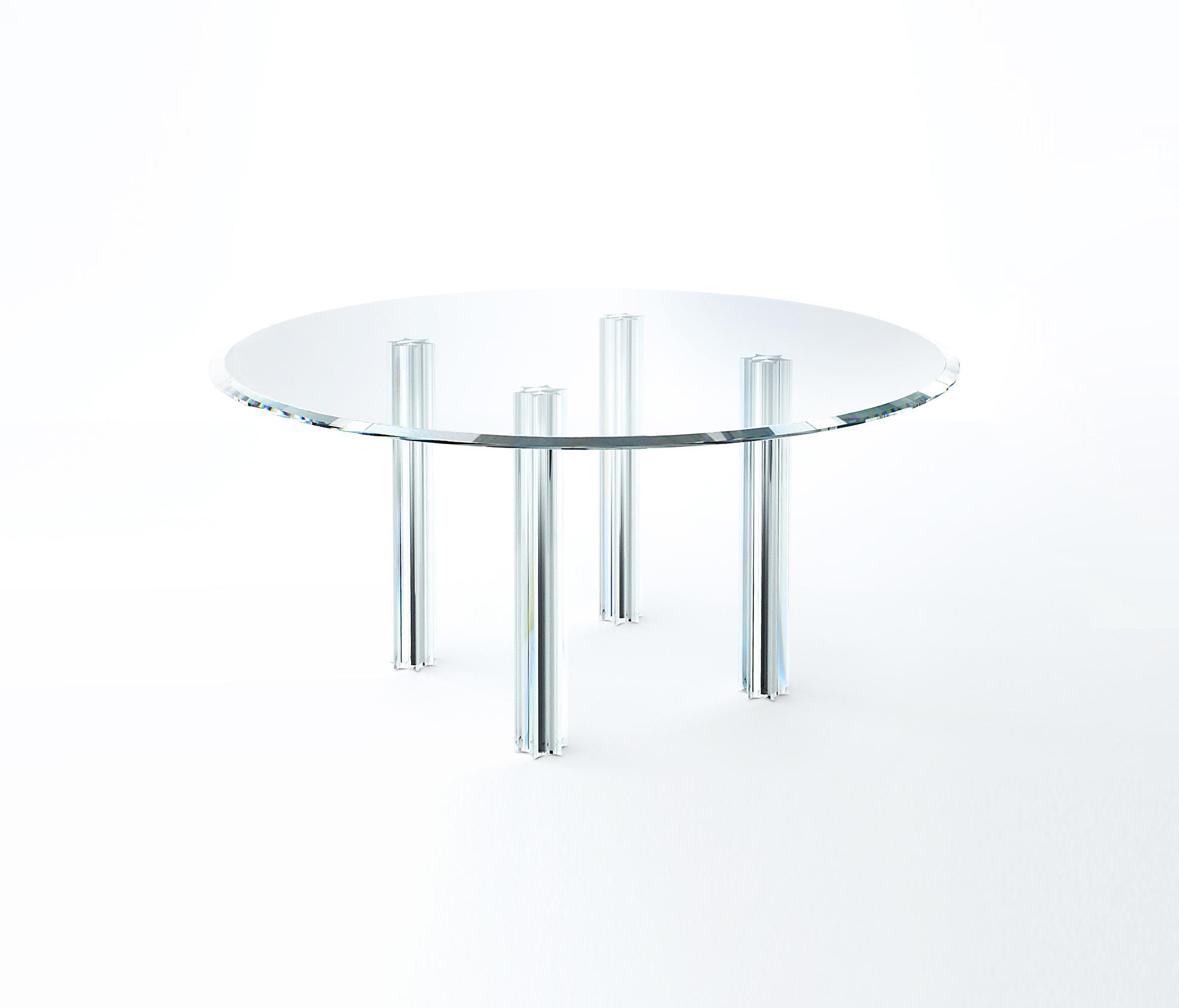 Starlight Glass Table By Glas Italia - Lounge Tables