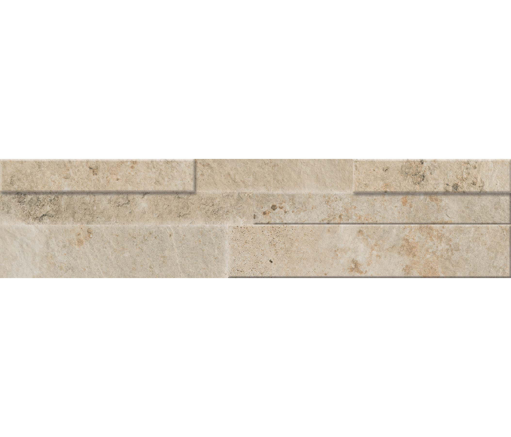 Springstone Ivory Muretto 3d Ceramic Tiles From Marca Corona