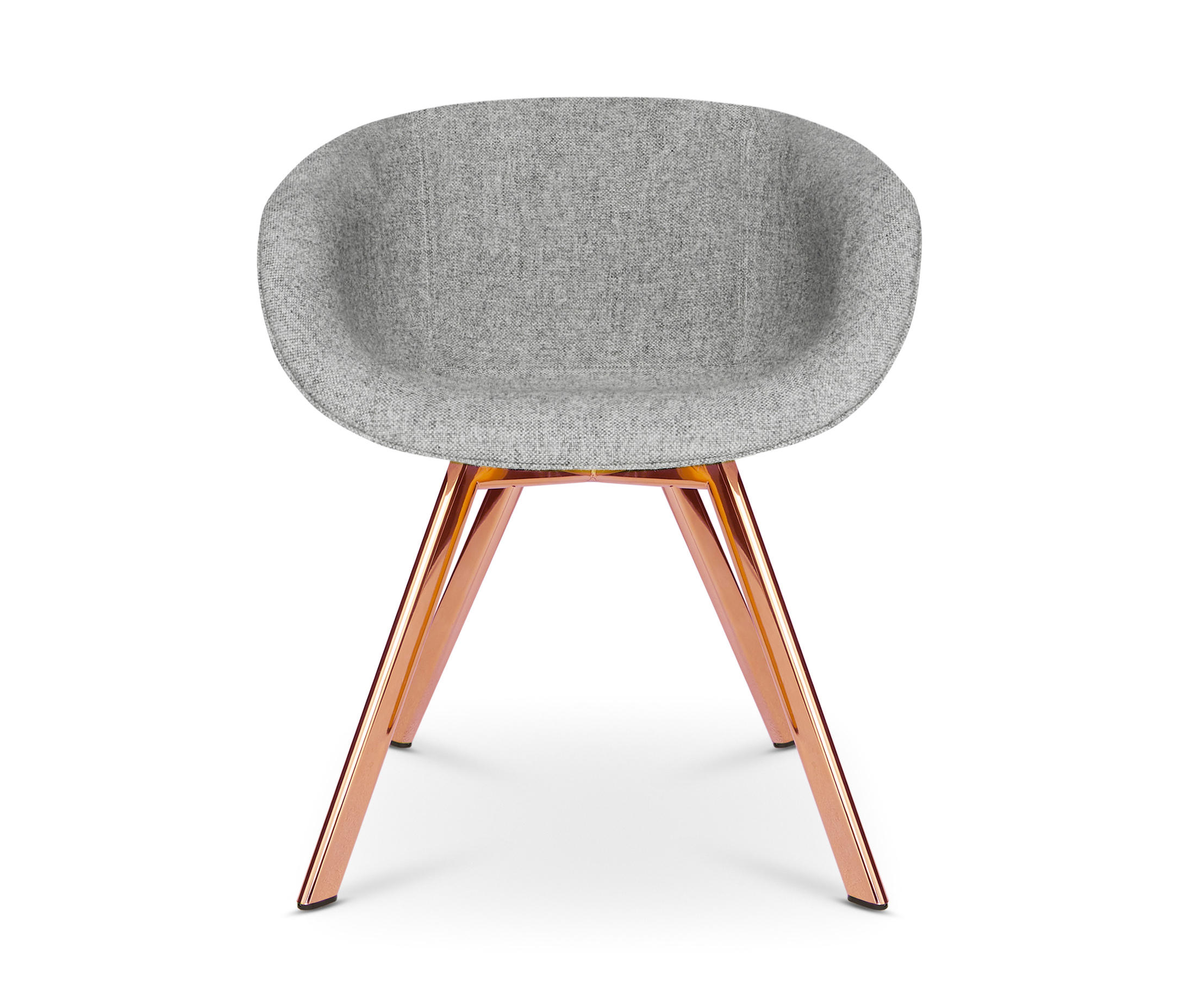 Merveilleux Scoop Chair Low Back Copper Leg By Tom Dixon | Chairs
