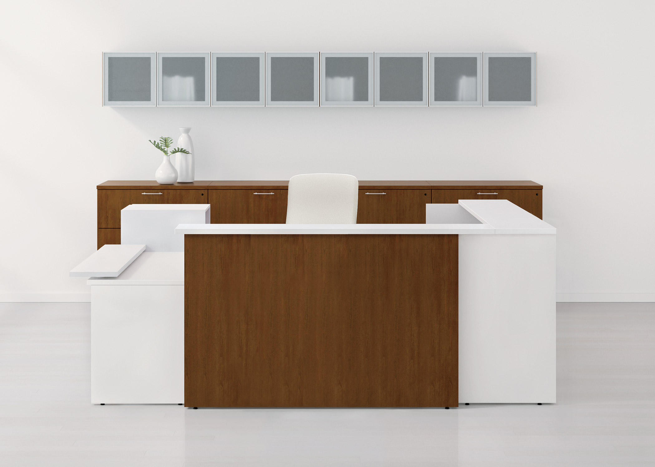 Waveworks Desk Theken Von National Office Furniture Architonic
