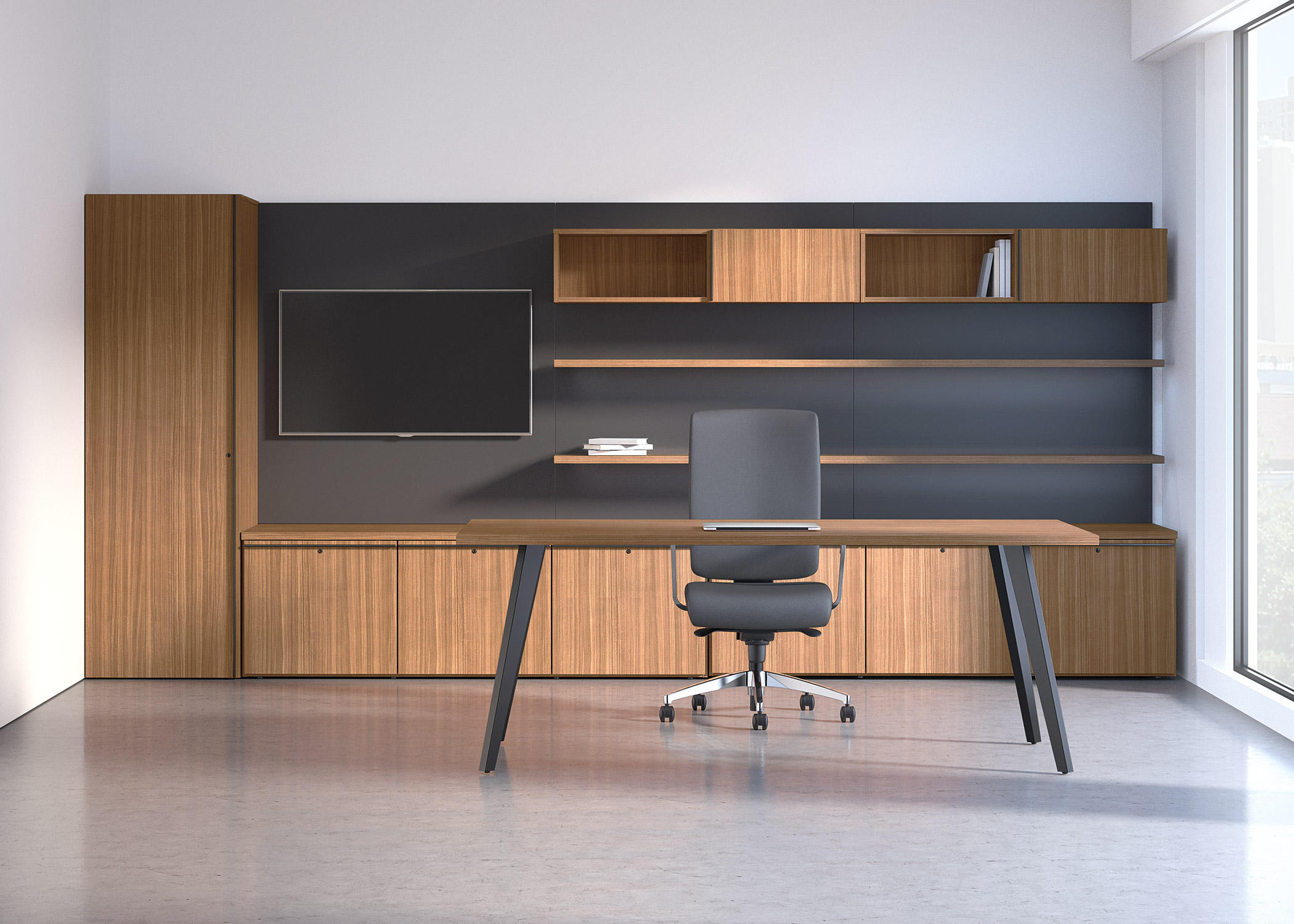 Desks From National Office Furniture