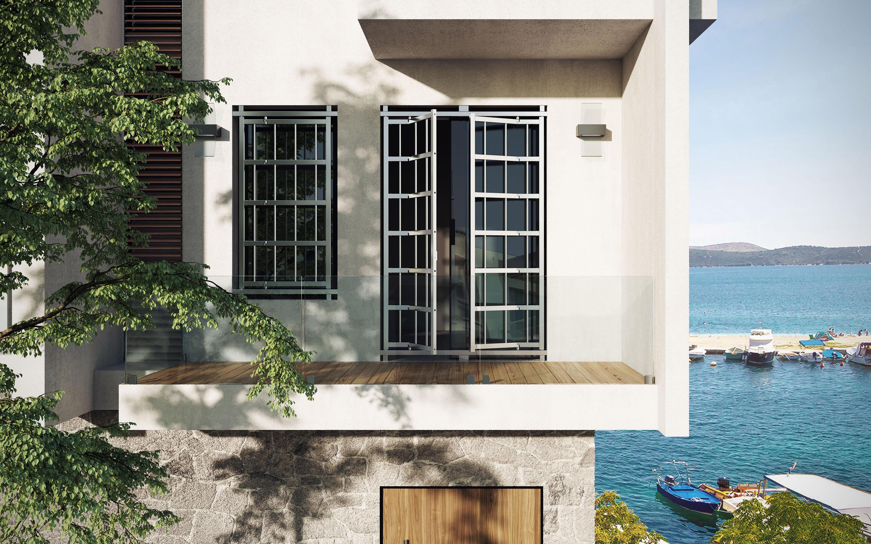 GALATEA - SECURITY GRILLE - Wohnungseingangstüren von Di.Bi. Porte ...