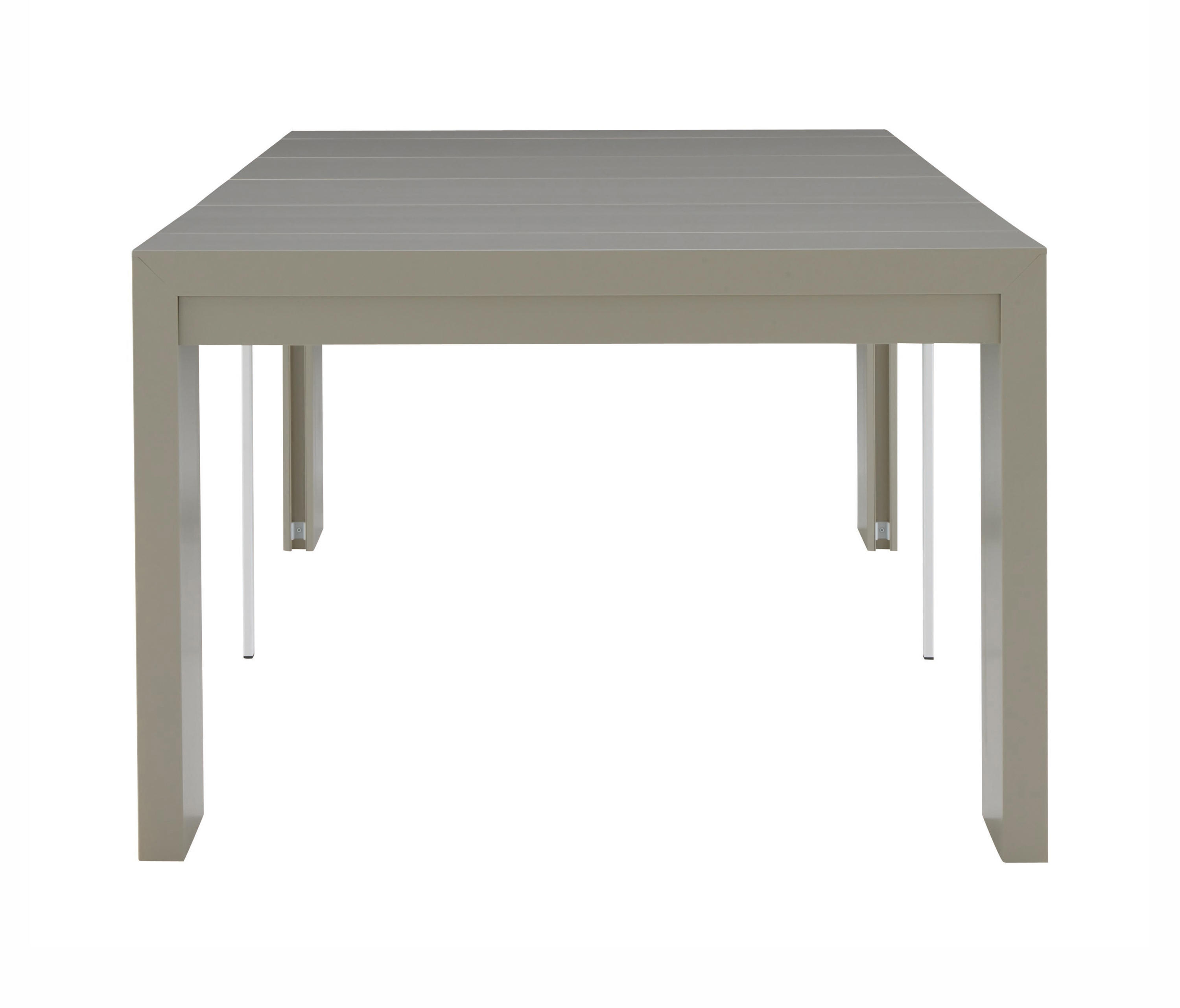 Doppio Extending Console Table Argile Lacquer By Ligne Roset Dining Tables