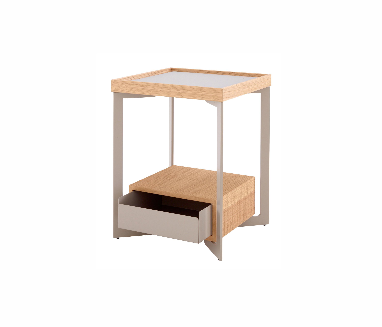 ... Estampe | Bedside Table Natural Finish Sawn Oak By Ligne Roset | Side  Tables ...