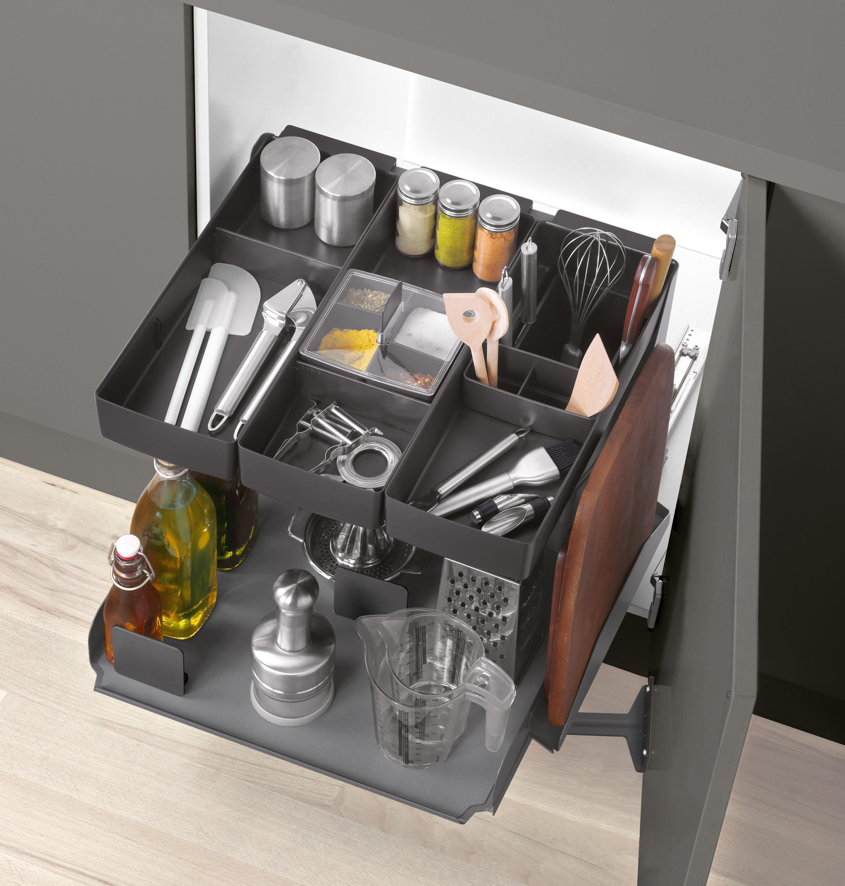 ... Kitchen Tower Base Unit Pull Out By Peka System | Kitchen Organization