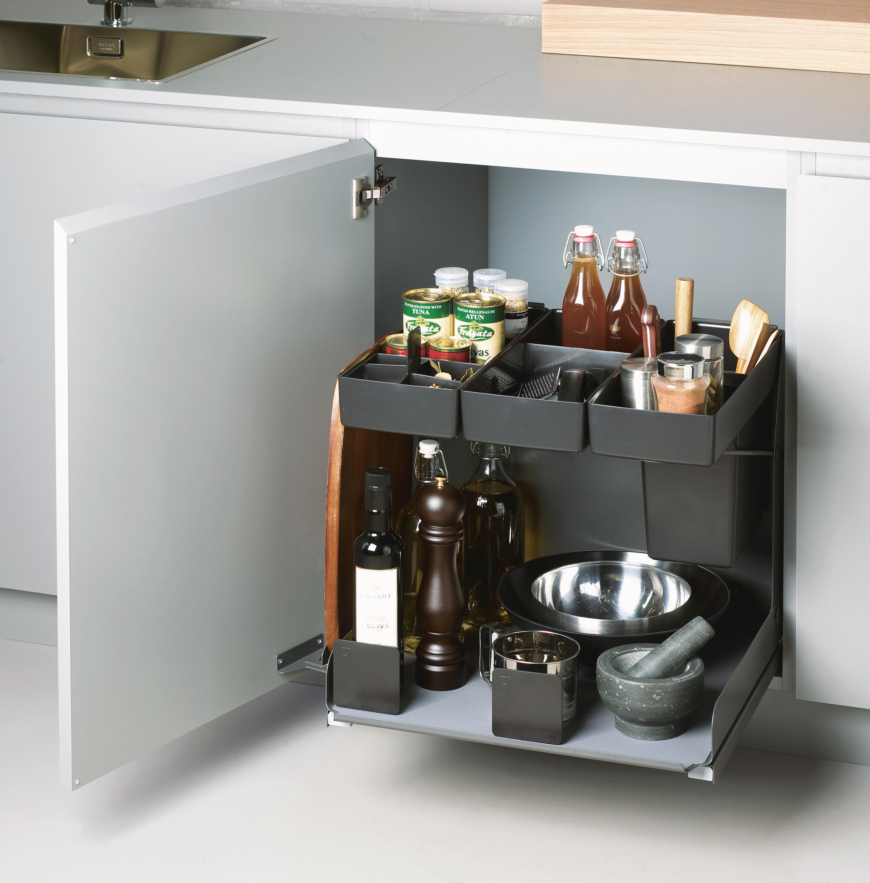 Kitchen Tower Base Unit Pull Out By Peka System | Kitchen Organization ...
