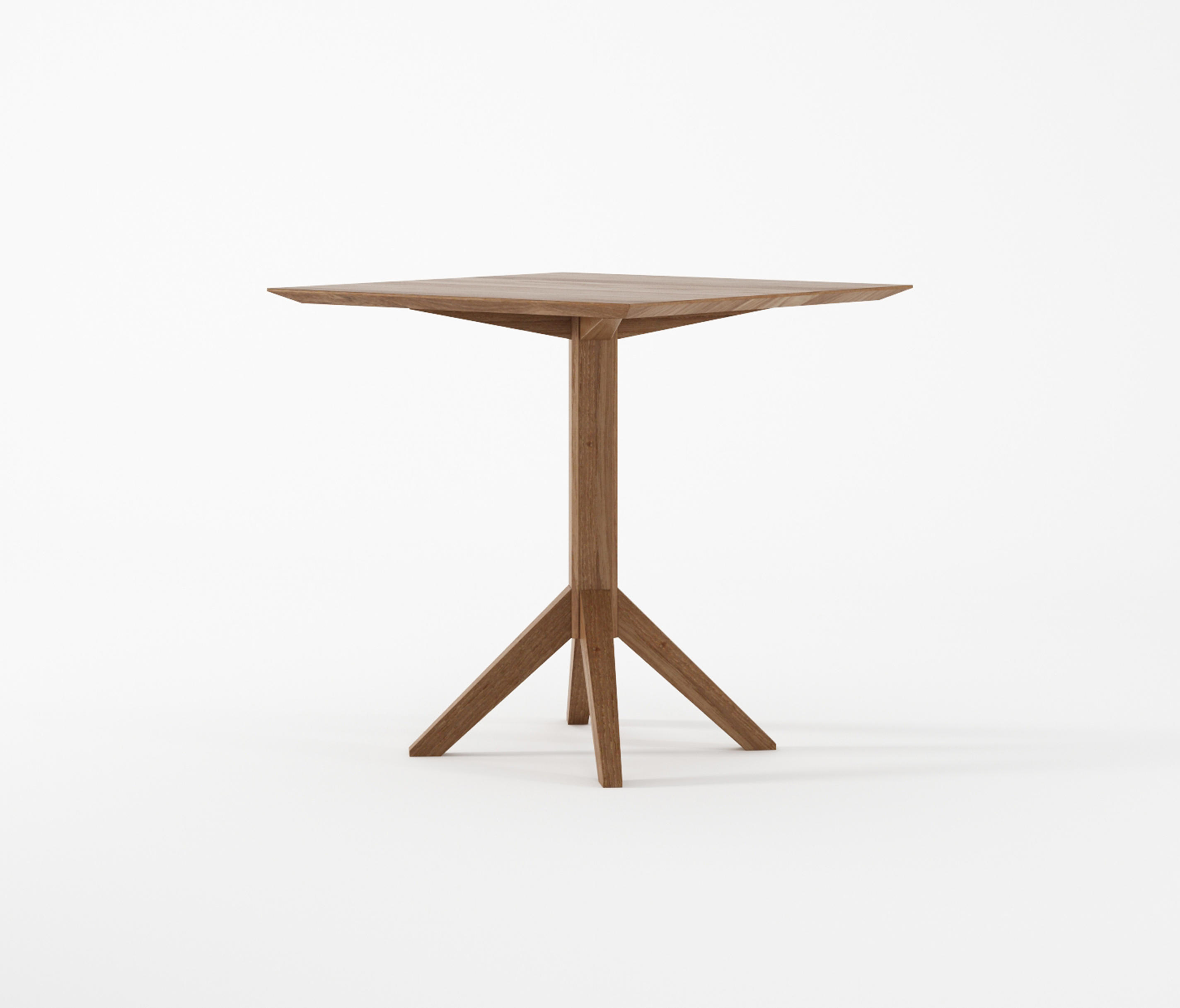 NEW BISTRO SQUARE BISTRO TABLE Bistro Tables From Karpenter - Square pedestal pub table