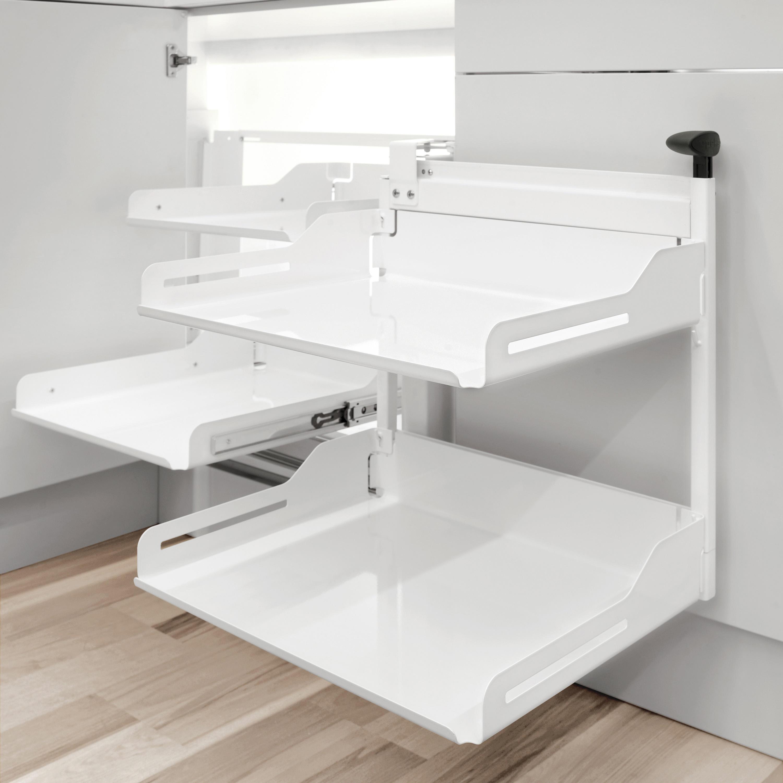 MAGIC CORNER COMFORT ECKAUSZUG - Küchenorganisation von peka-system ...