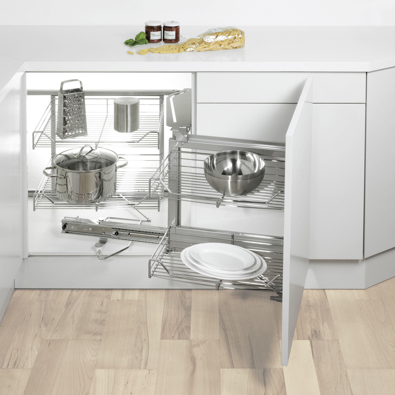 MAGIC CORNER FLEX ECKAUSZUG - Küchenorganisation von peka-system ...