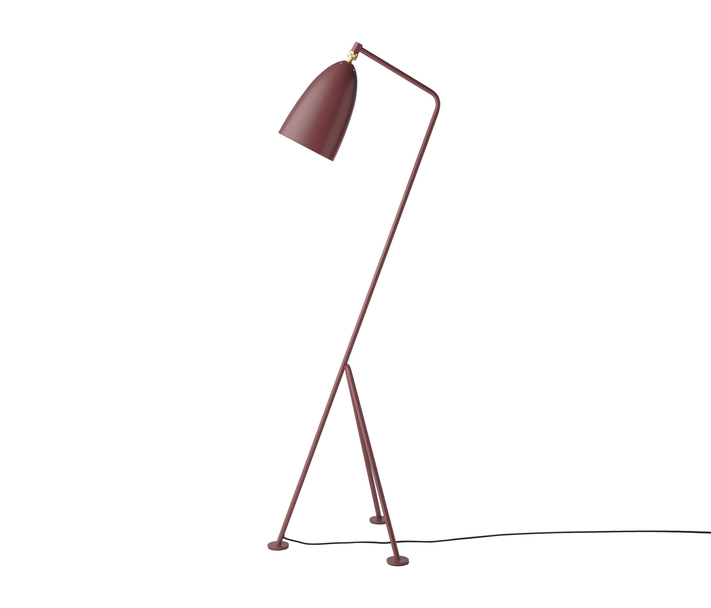 Gräpa Floor Lamp Andorra Red By Gubi Free Standing Lights
