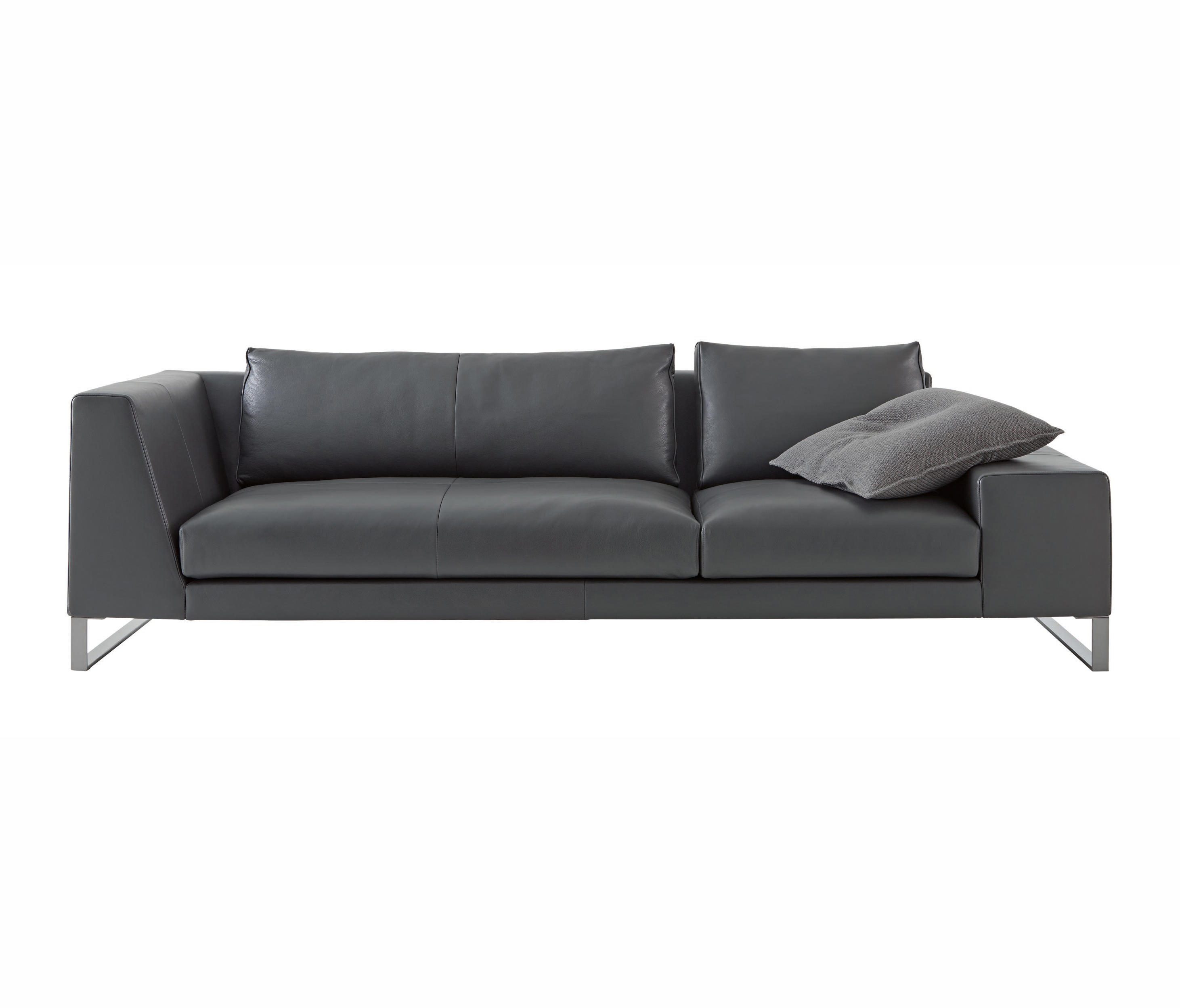 Exclusif 2 Large Asymmetrical Settee Left Complete Item Architonic