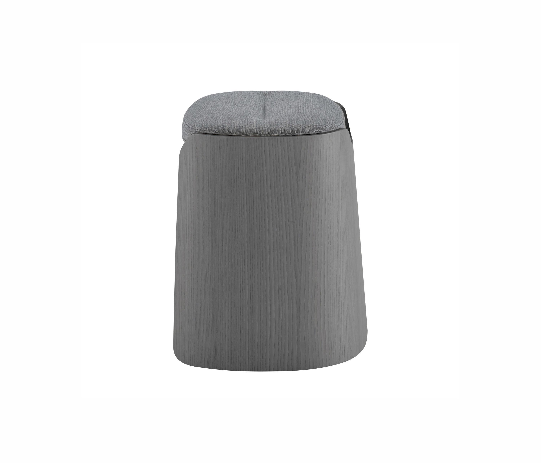 joa hocker esche anthrazit gebeizt poufs polsterhocker von ligne roset architonic. Black Bedroom Furniture Sets. Home Design Ideas