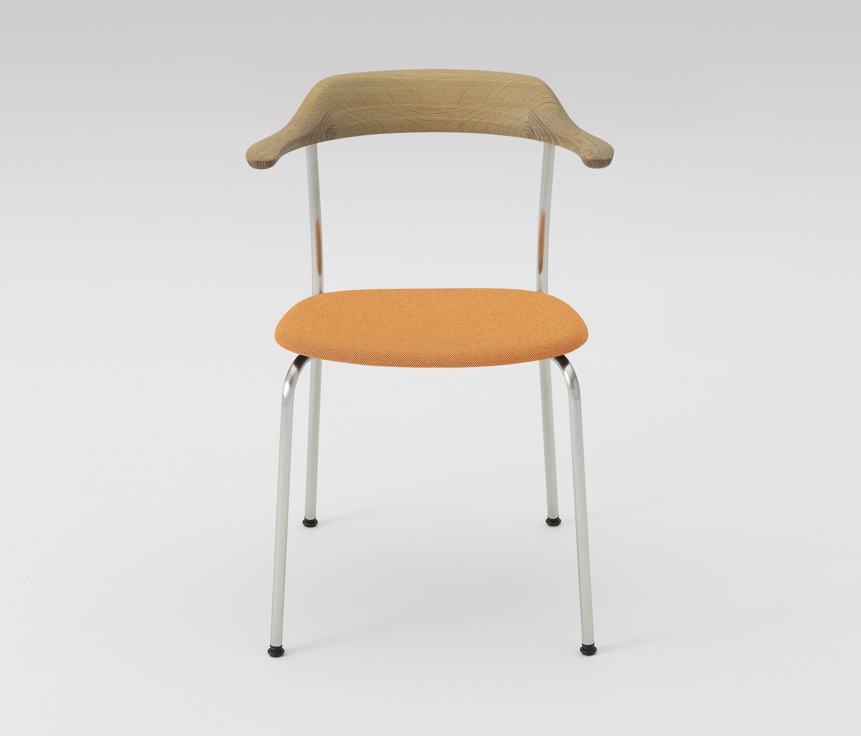 Hiroshima Arm Chair Stackable (Cushioned) By MARUNI | Chairs ...