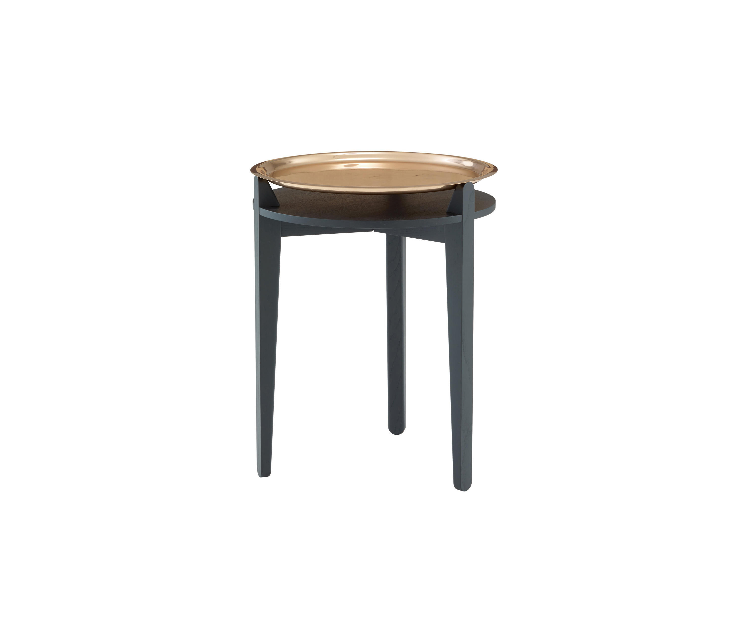 SIDE TABLE | OCCASIONAL TABLE COPPER-PLATED TOP - Side tables from ...