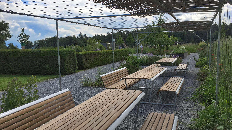Landi Inclusion Bench Table Bench Combination Mesas Y Bancos De