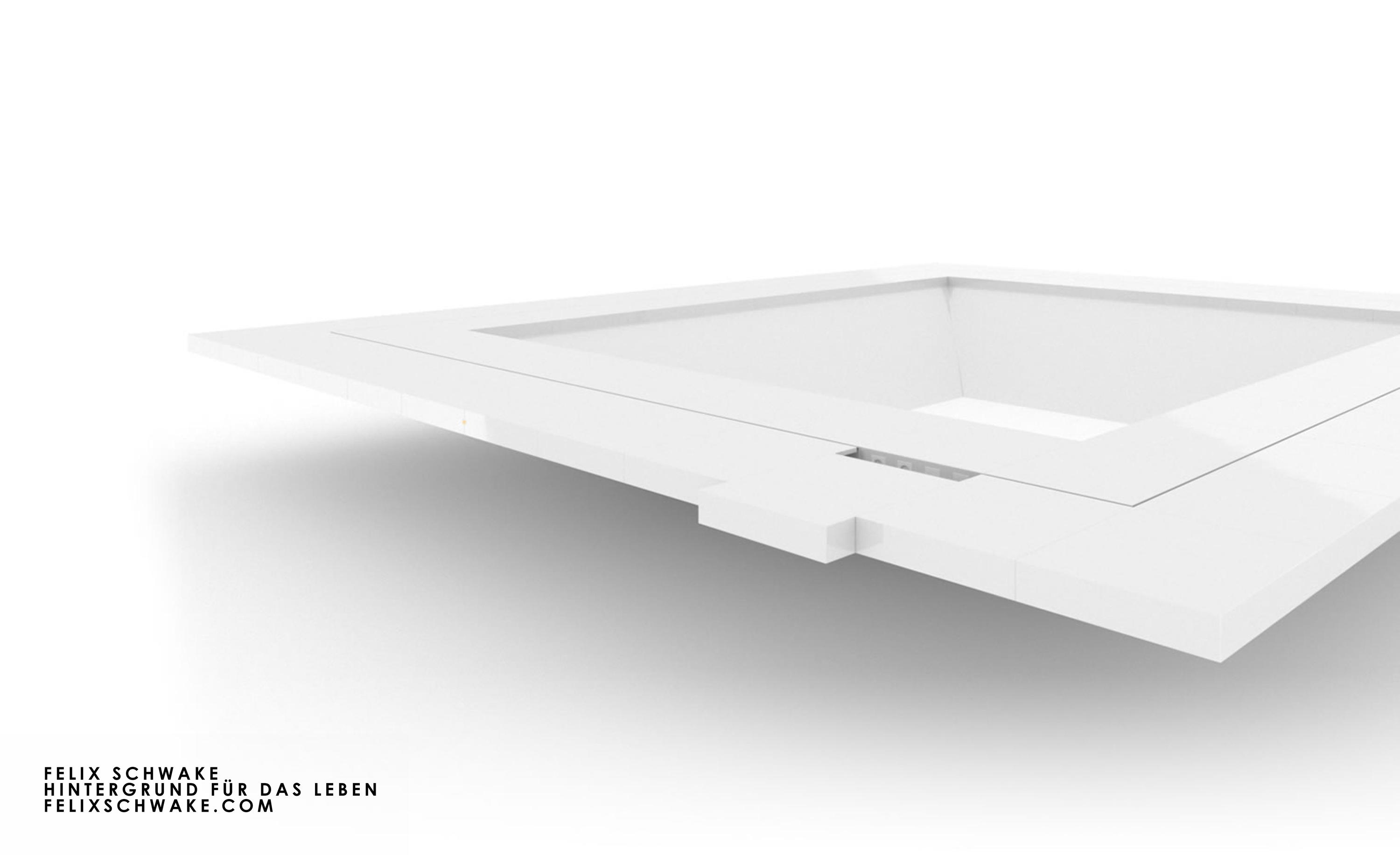 Conference Table Iv I Special Edition Piano Lacquer White