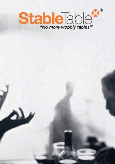 Brochure   No more wobbly tables!