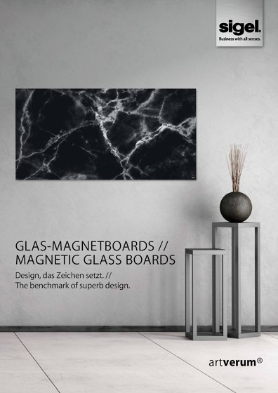 Glas-Magnetboards // Magnetic Glass Boards