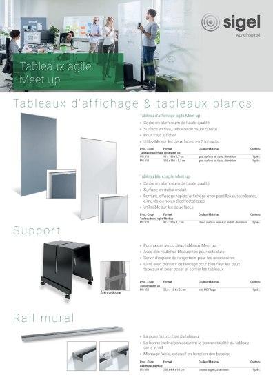 Meet up - Tableaux agile