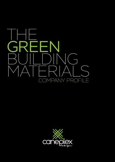 The green Building Materials