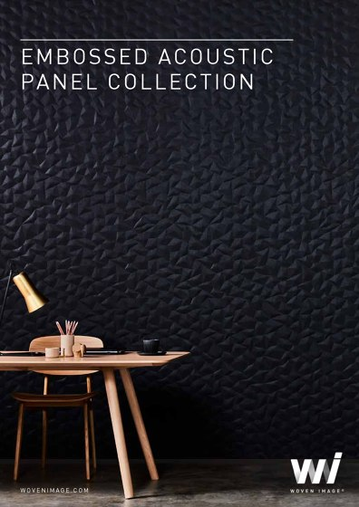 EMBOSSED ACOUSTIC PANEL COLLECTION