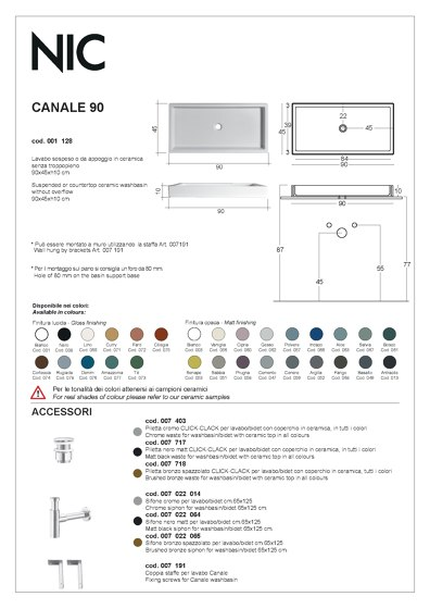 Canale | Catalogue