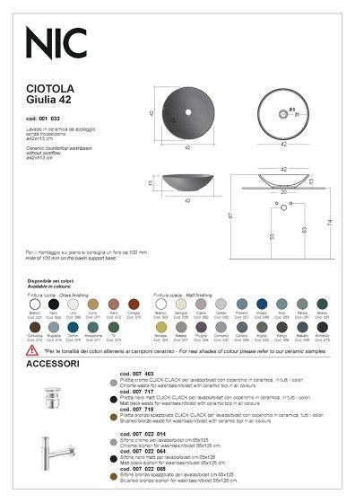 Ciotole | Catalogue