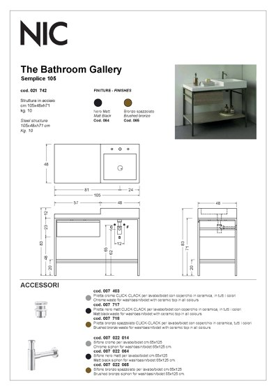 Furnitures | Catalogue