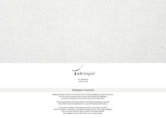 Wallpaper materials