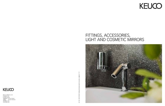 FITTINGS, ACCESSORIES, LIGHT AND COSMETIC MIRRORS