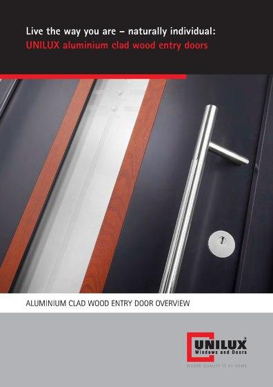 ALUMINIUM CLAD WOOD ENTRY DOOR OVERVIEW