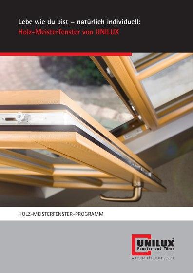 HOLZ-MEISTERFENSTER-PROGRAMM
