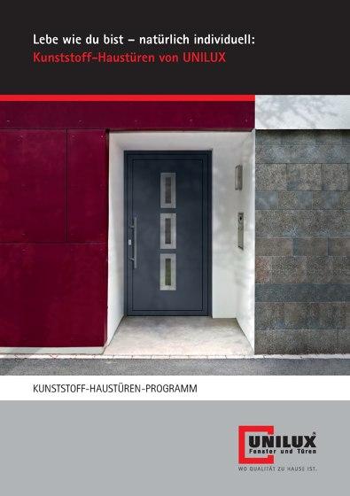 KUNSTSTOFF-HAUSTÜREN-PROGRAMM