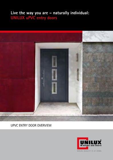 UPVC ENTRY DOOR OVERVIEW