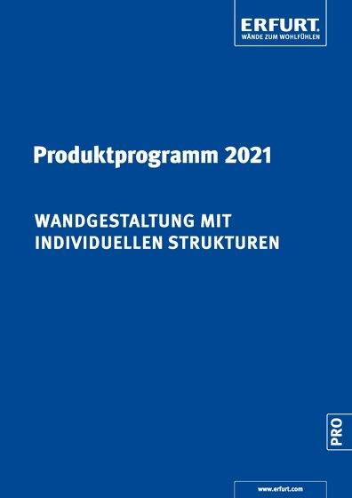 ERFURT Produktprogramm 2021