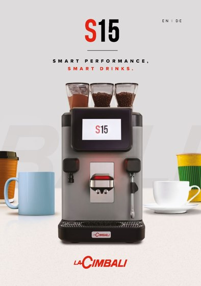S15 Smart Performance, Smart Drinks.