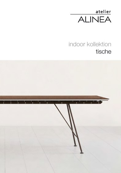 indoor kollektion – tische