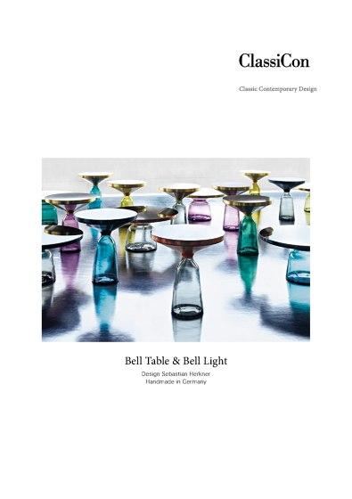 Bell Table & Bell Light   Sebastian Herkner