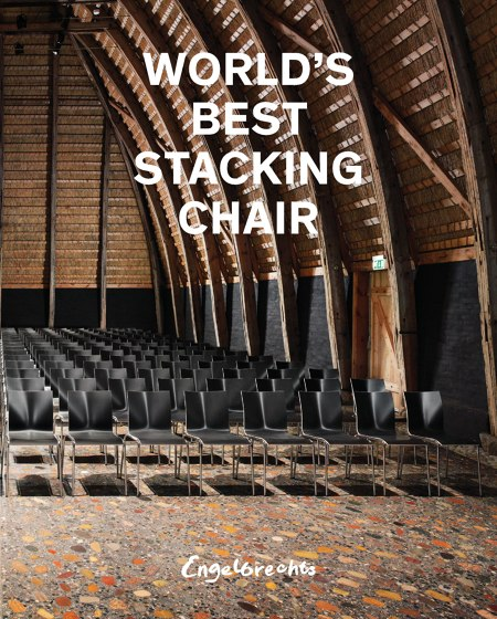 WORLD'S BEST STACKING CHAIR