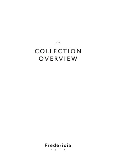 COLLECTION OVERVIEW 2018