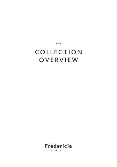 COLLECTION OVERVIEW 2019