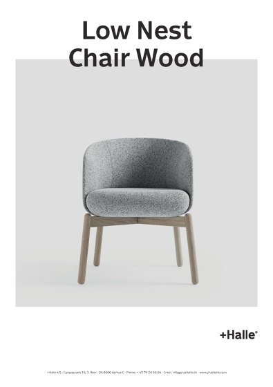 Low Nest Chair Wood