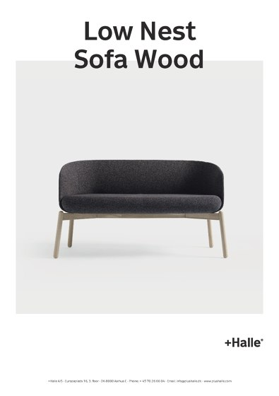 Low Nest Sofa Wood