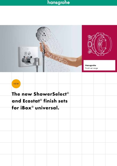 hansgrohe Concealed Installation Solutions 2014