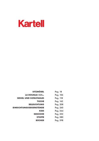 KARTELL Produkte, Kollektionen & mehr   Architonic