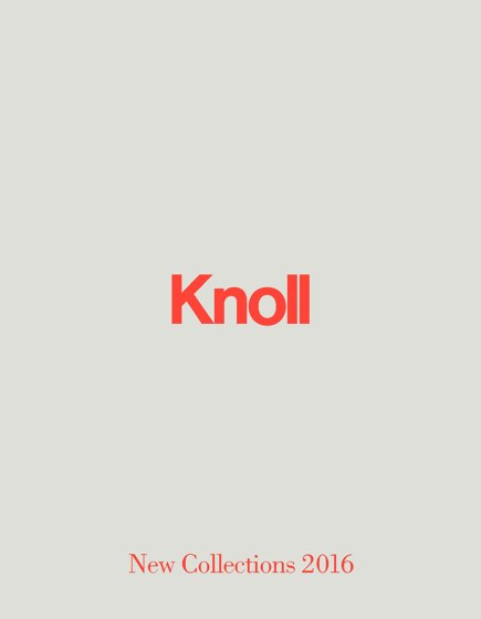 Knoll New Collections 2016