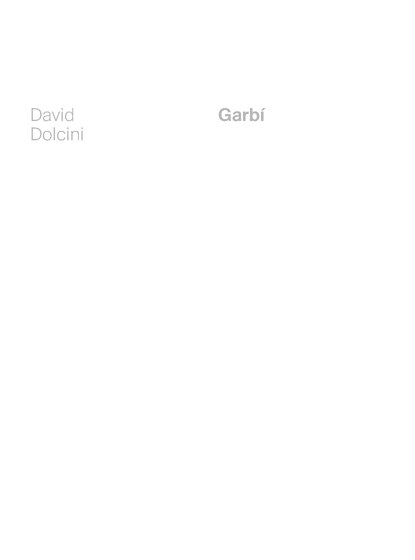 Garbí | David Dolcini