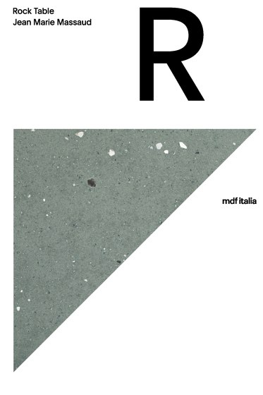 Rock Table | Jean Marie Massaud