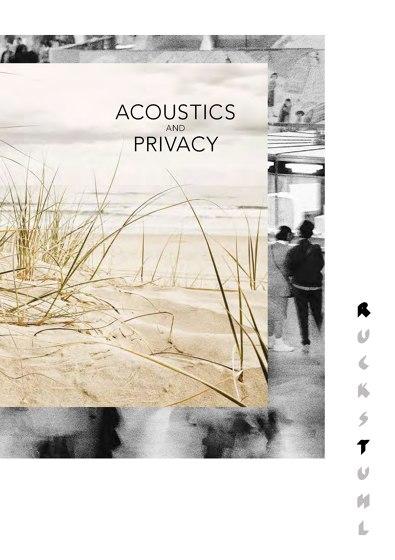 Ruckstuhl Silento Pannello Acoustic 2014